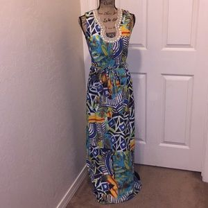 Badgley Mischka maxi dress